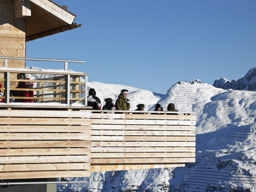 Luxury restaurant Mountain, Lech, Oldest building in Lech, Arlberg ski area, Arlberg ski holidays, Arlberg White Ring, The White Ring Ski Circuit, Panoramic Views of the Arlberg, Mountain Views