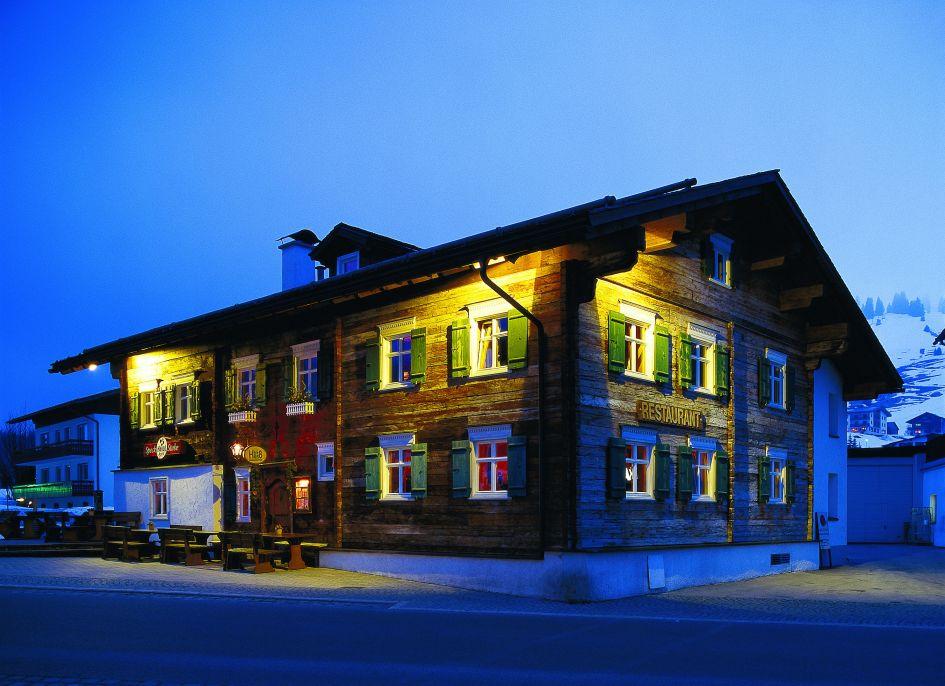 Luxury restaurant Mountain, Lech, Oldest building in Lech, Arlberg ski area, Arlberg ski holidays, Arlberg White Ring, The White Ring Ski Circuit