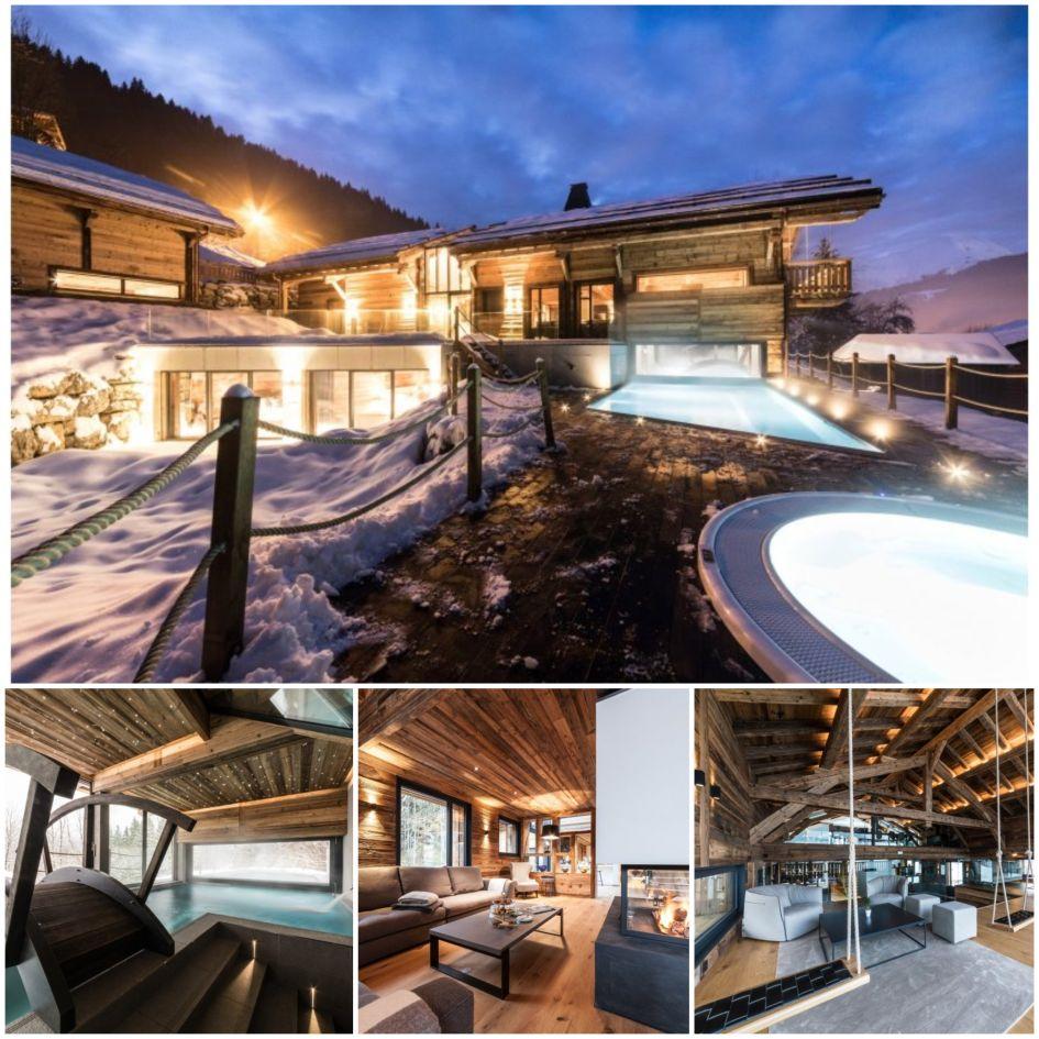 luxury chalet, Christmas, Morzine, Alps