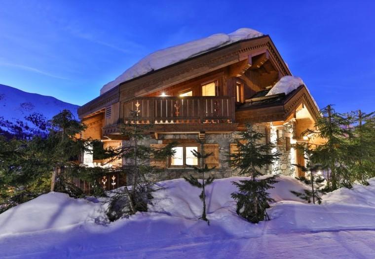 luxury chalet, Meribel, skiing