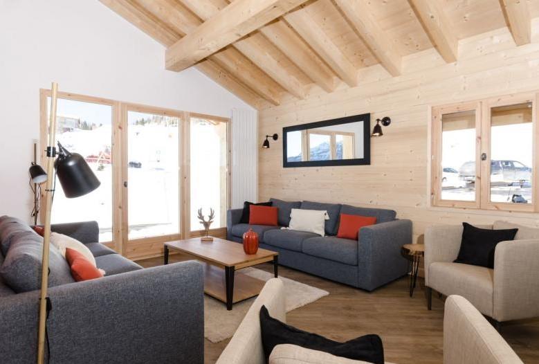 luxury chalet, La Rosiere, skiing