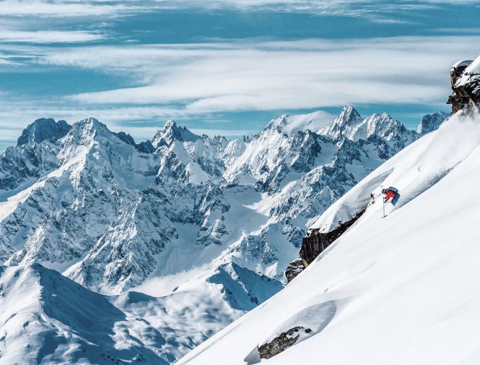 Verbier, off-piste skiing, ski resort, off-piste ski resort