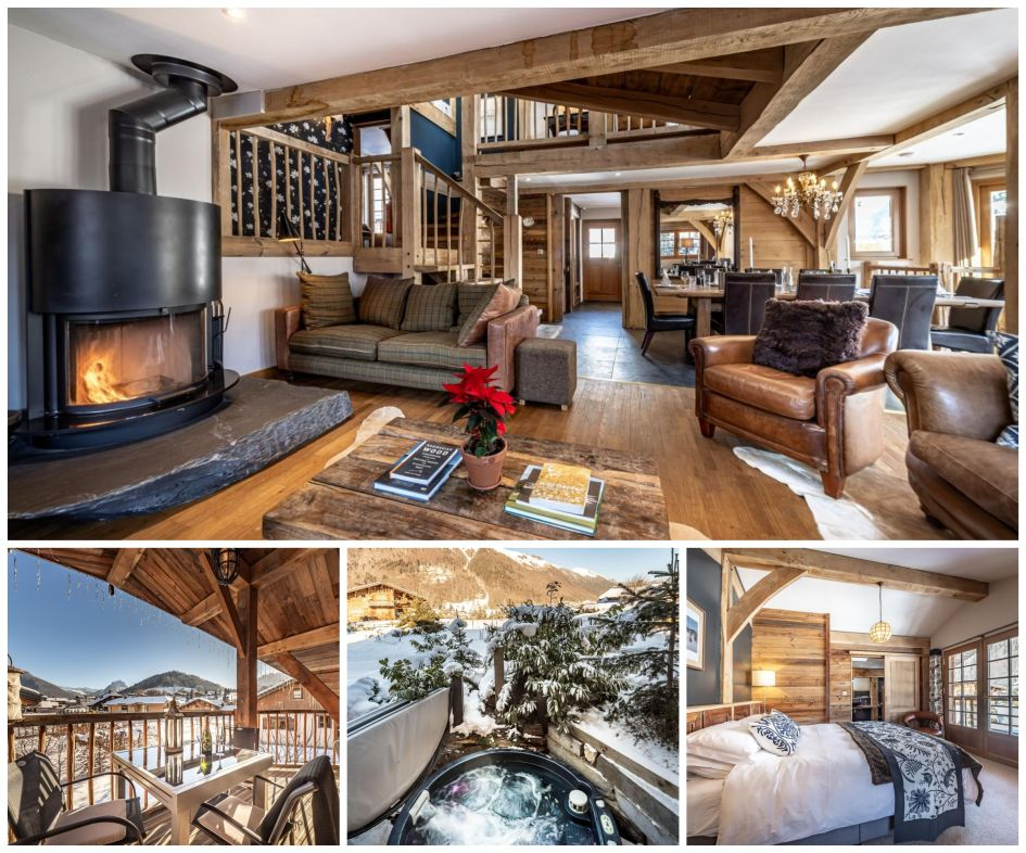 luxury ski chalets in Morzine, Christmas in Morzine, Christmas in the Alps, ski chalets at Christmas