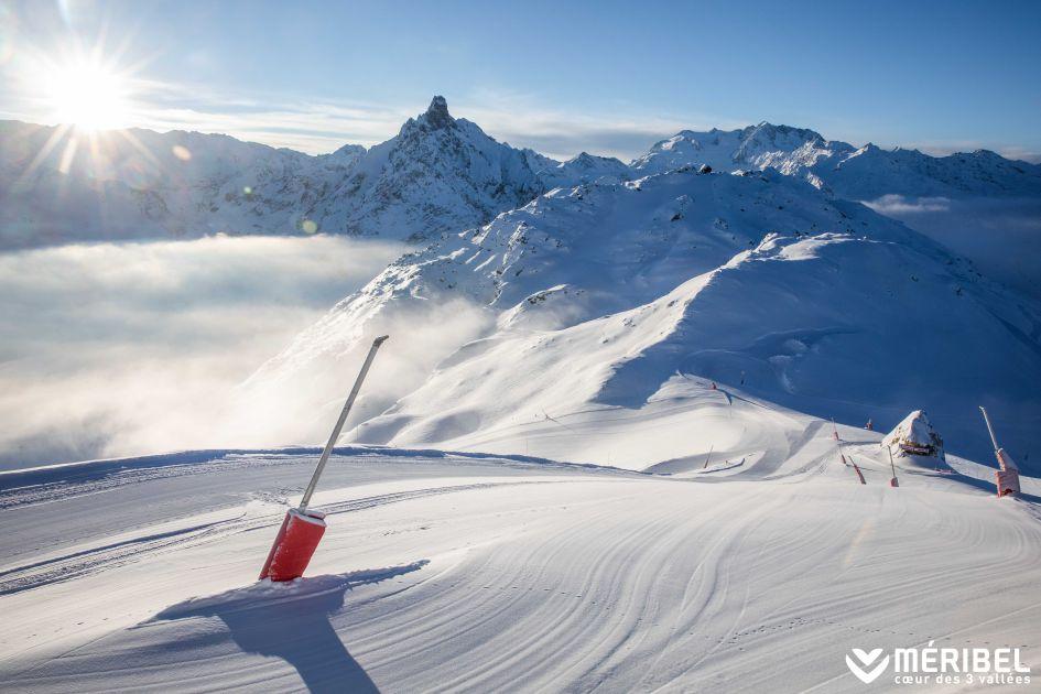 skiing, ski slope, mountains, beginners