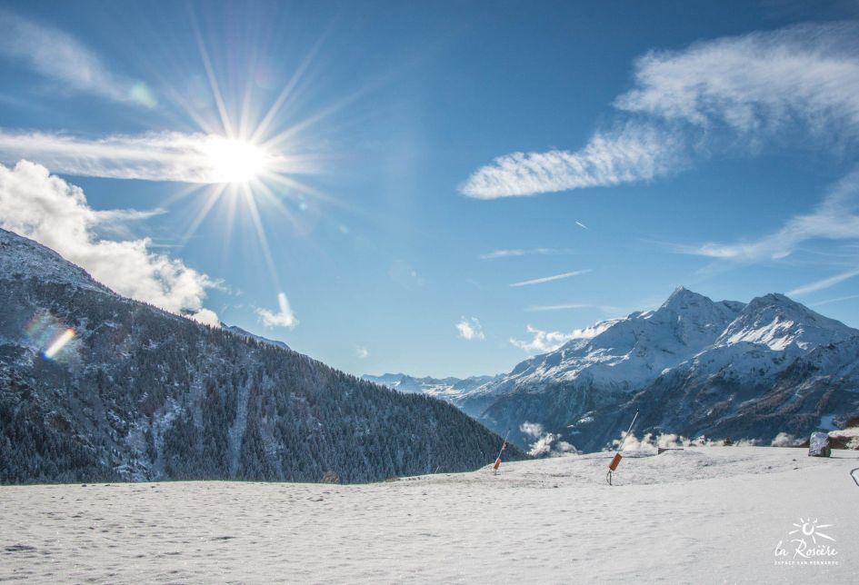 La Rosiere, Mountains, Snow, Ski, Sunshine