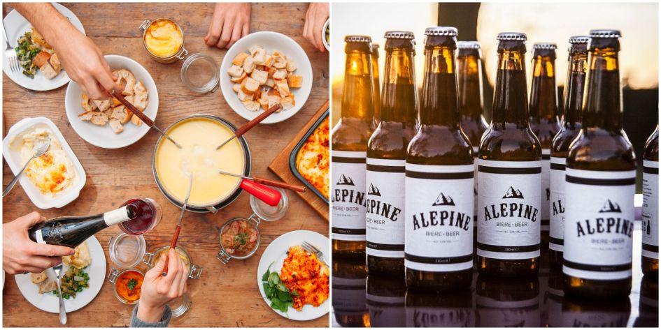 fondue, cheese, beer, ale