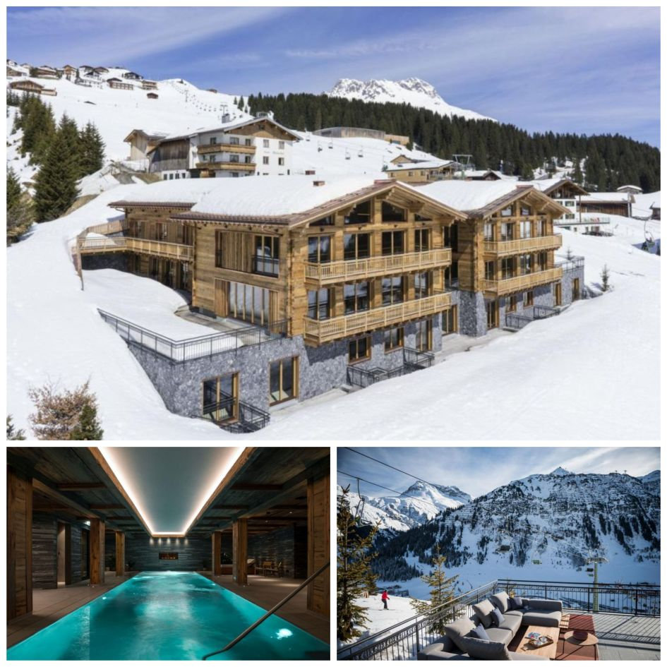 Arula Chalets, Arula Chalet 1, Arula Chalet 2, luxury chalets in Lech, luxury ski-in, ski-out chalet, ski-in, ski-out in Lech, Lech luxury ski chalets