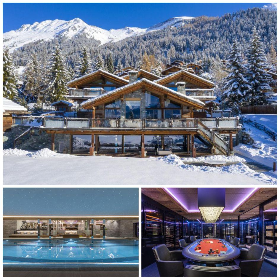 Chalet Marmottiere in Verbier, luxury fully staffed chalets in Verbier, Verbier luxury chalets, luxury ski holiday in Verbier