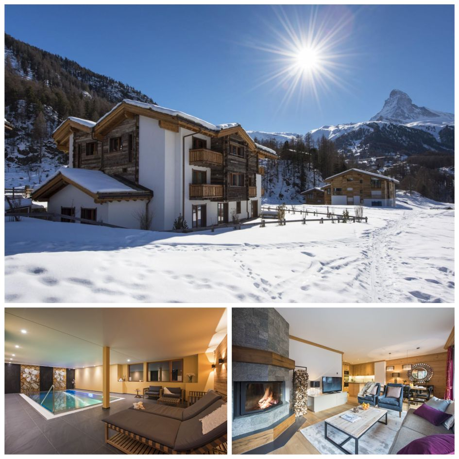 Chalet Elena, luxury bed and breakfast ski chalets, luxury bed and breakfast chalet in Zermatt, Zermatt bed and breakfast ski chalets