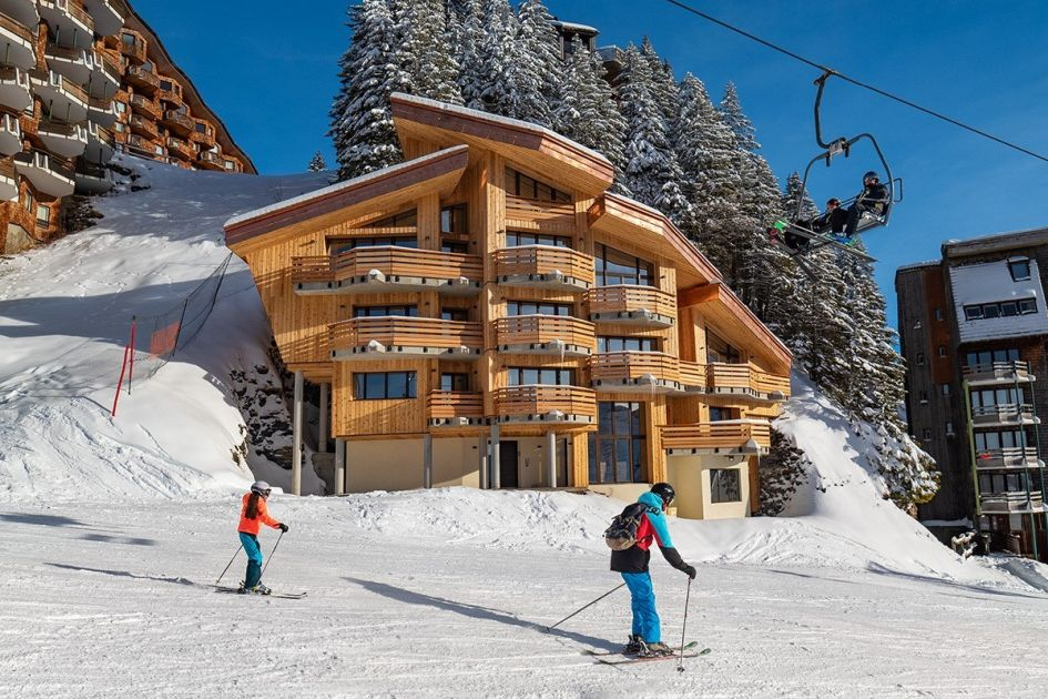 Chalet Ossetra, luxury ski-in, ski-out chalets, ski-in, ski-out, luxury ski chalets in Avoriaz
