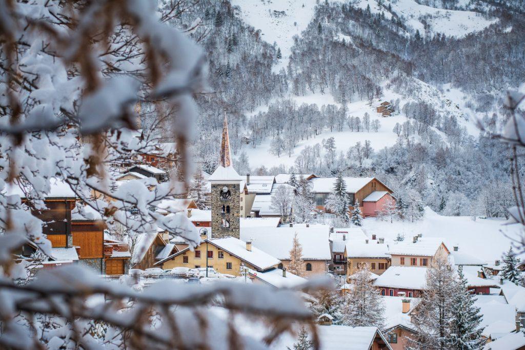St Martin de Belleville, luxury ski chalets, luxury ski resort