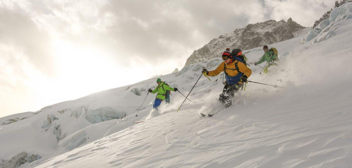 off-piste skiing, ski resorts, Chamonix, backcountry