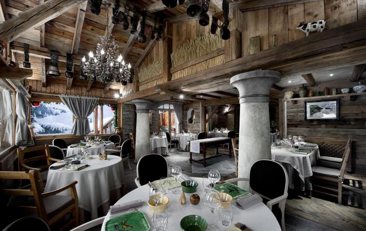3 Michelin Star restaurant, La Bouitte, St Martin de Belleville