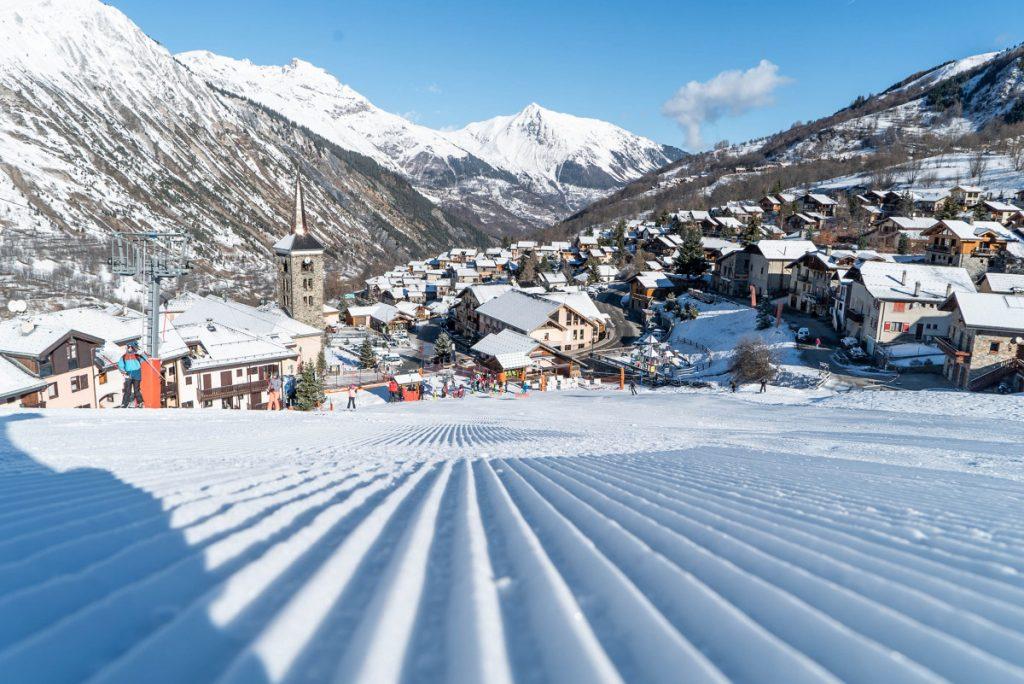 St Martin de Belleville Ski Area, St Martin de Belleville skiing, skiing in St Martin de Belleville
