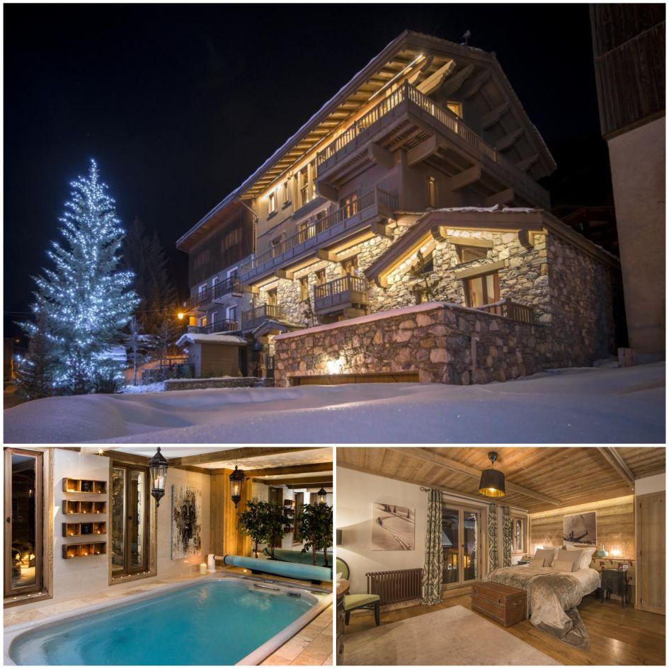 Chalet de la Cloche, Tignes best catered ski chalets, traditional ski chalet