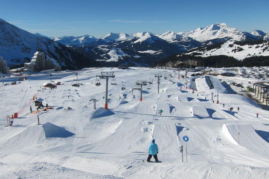 snow park, freestyle skiing, ski tricks, snow park tips