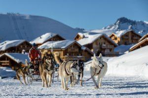 Husky ride Alp d'Huez, Family Ski Trip, Luxury Ski Holiday, Alp d'Huez, First Family Ski Holiday