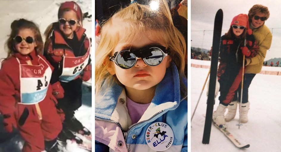 Reminisce about ski trips from years past