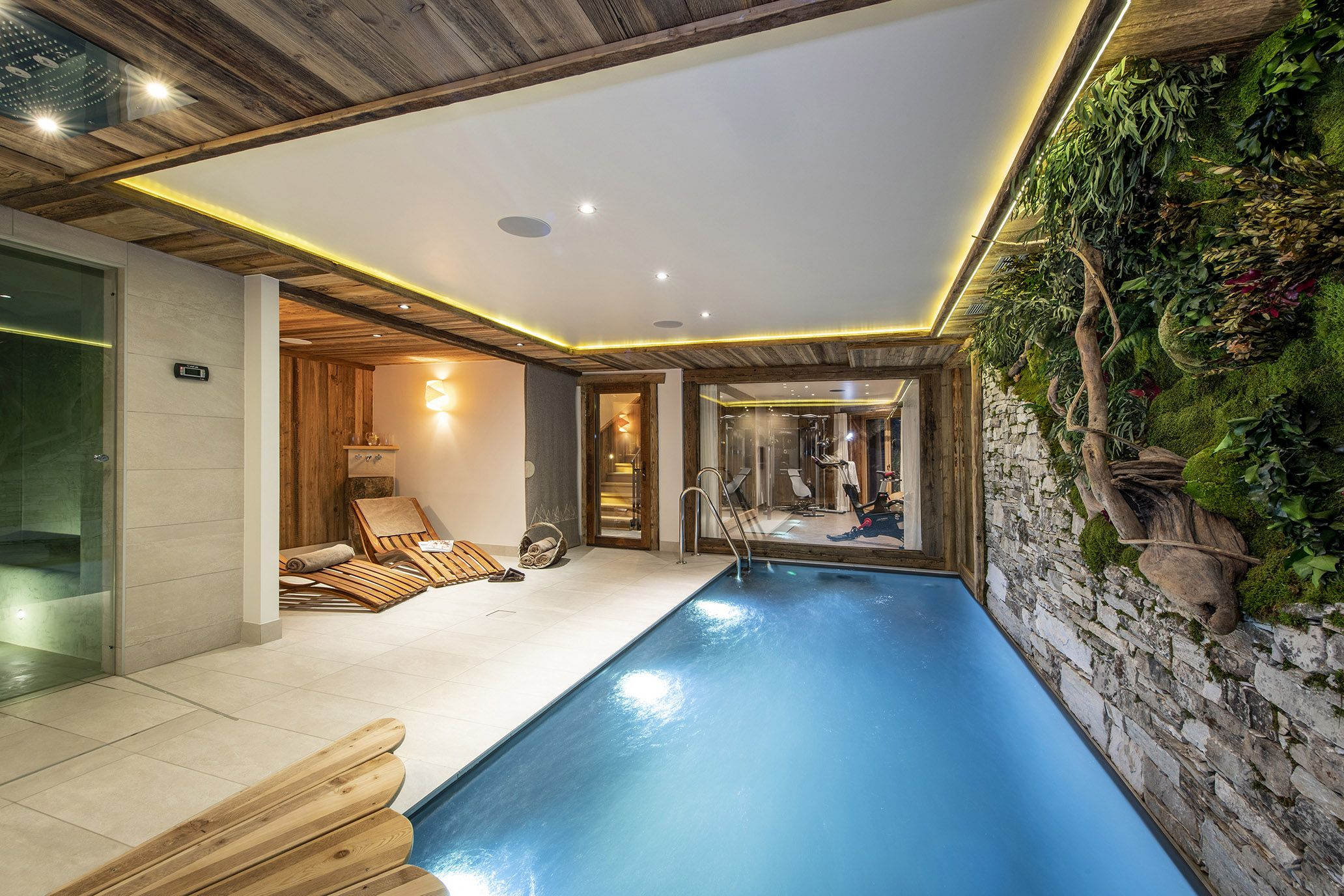 Chalet Machapuchare, Luxury, Mountain, Swimming Pool,