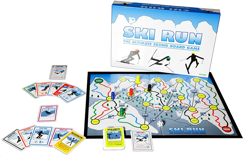 Ski Run Board Game