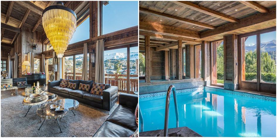 seasonal chalet rentals, luxury ski chalet Megeve, seasonal ski chalets Megeve