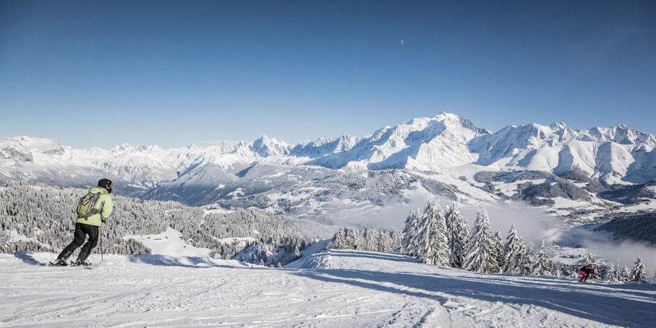 ski Megeve, ski chlates Megeve, seasonal chalet rentals Megeve