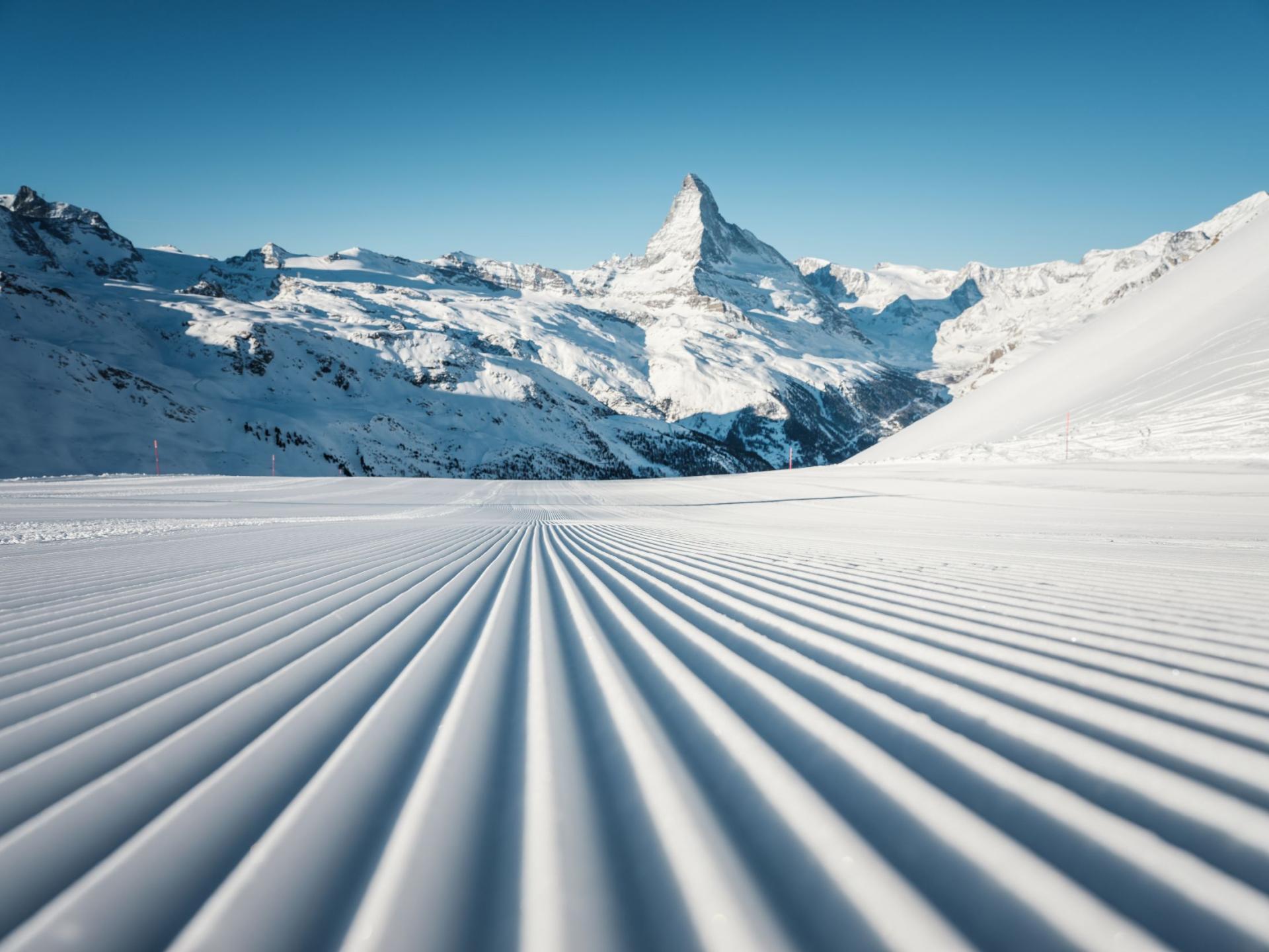 skiing in Zermatt, Matterhorn skiing, top ski runs in Zermatt