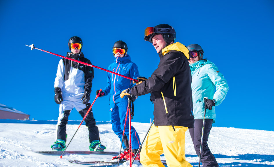 skiing in Zermatt, Matterhorn skiing, top ski runs in Zermatt, Zermatt ski school, Matterhorn Diamonds