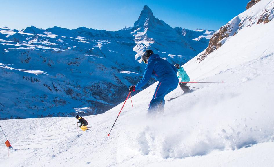 Itineraries in Zermatt, Matterhorn skiing, Matterhorn Diamonds