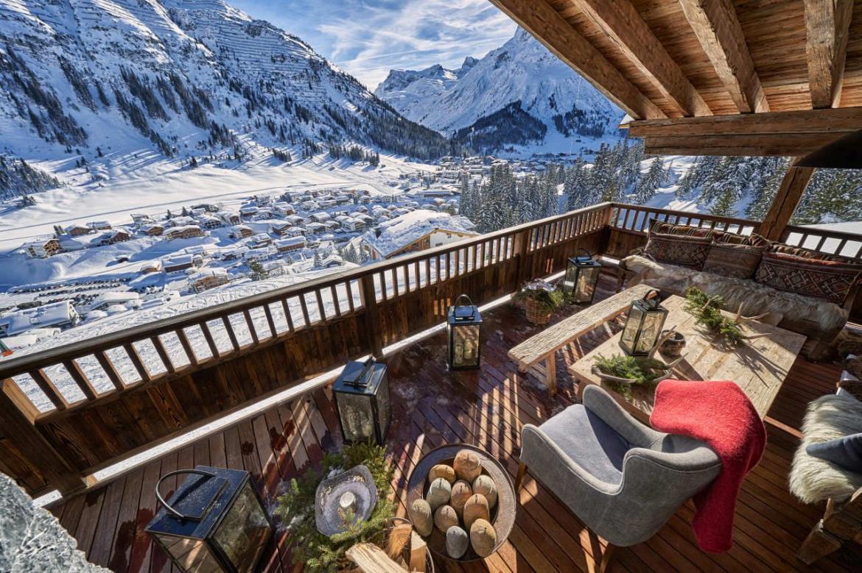 alpine retreat, remote chalets, escapism, wanderlust, luxury retreat, Lech