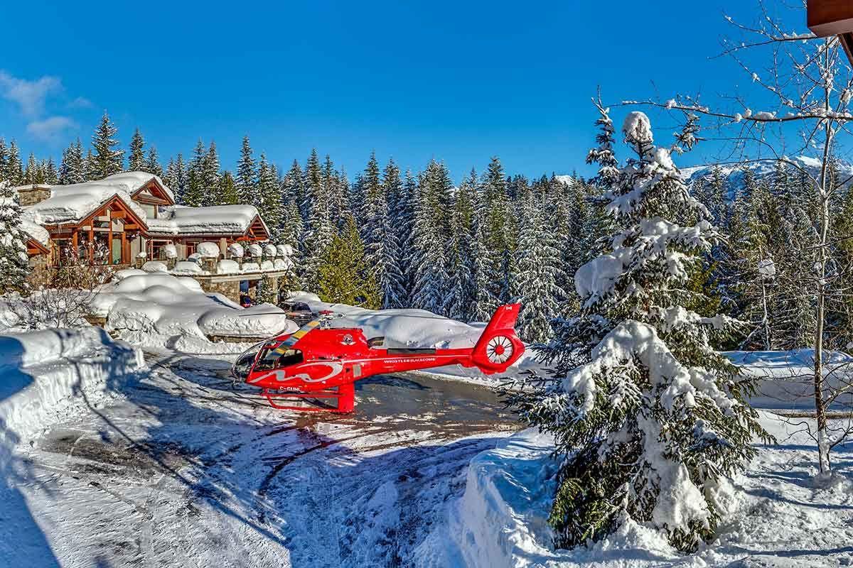 alpine retreat, luxury alpine ski retreats, whistler, skiing in whistler, heli-skiing canada