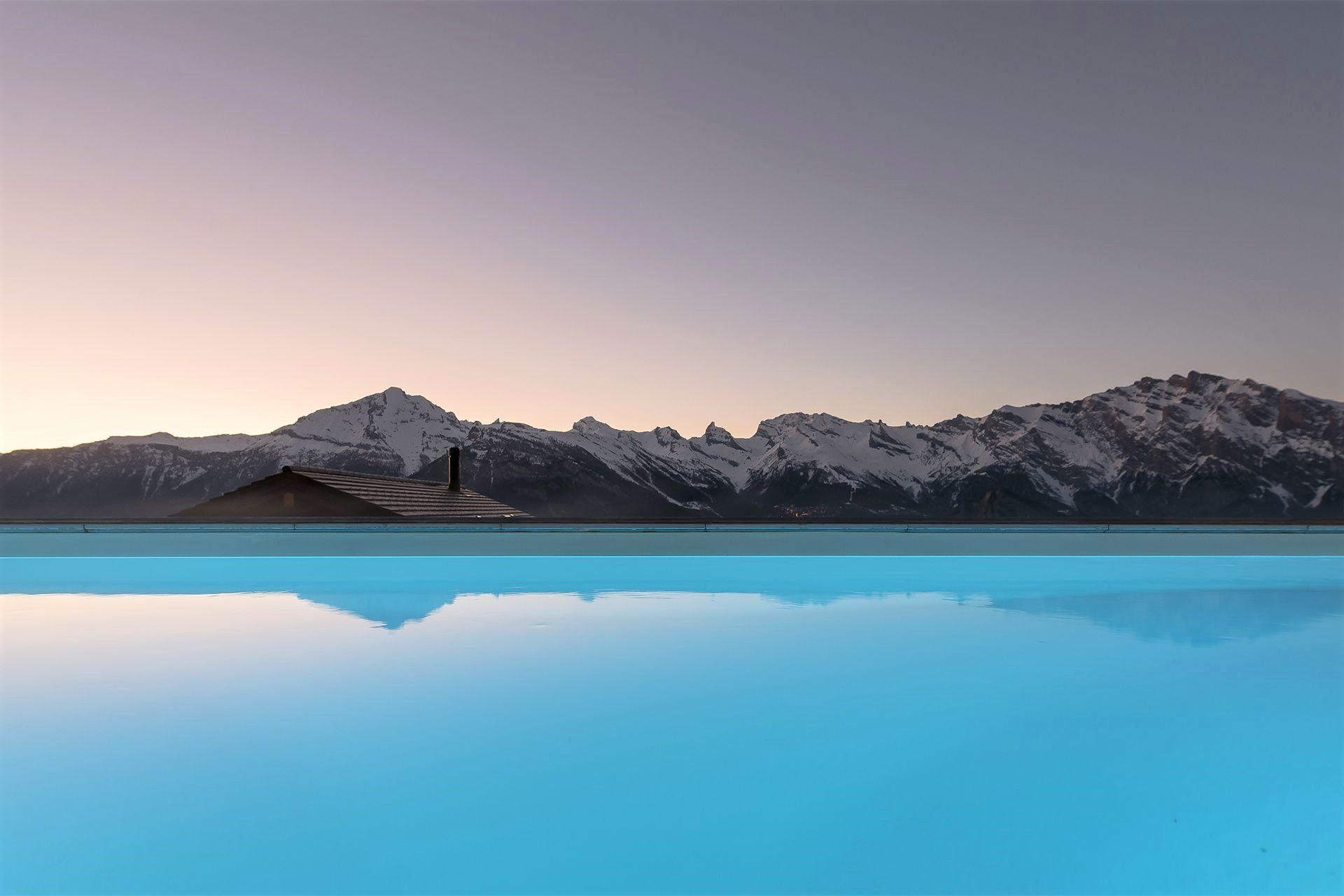 alpine retreat, remote chalets, escapism, wanderlust, luxury retreat, La Tzoumaz, Verbier, 4 Vallees