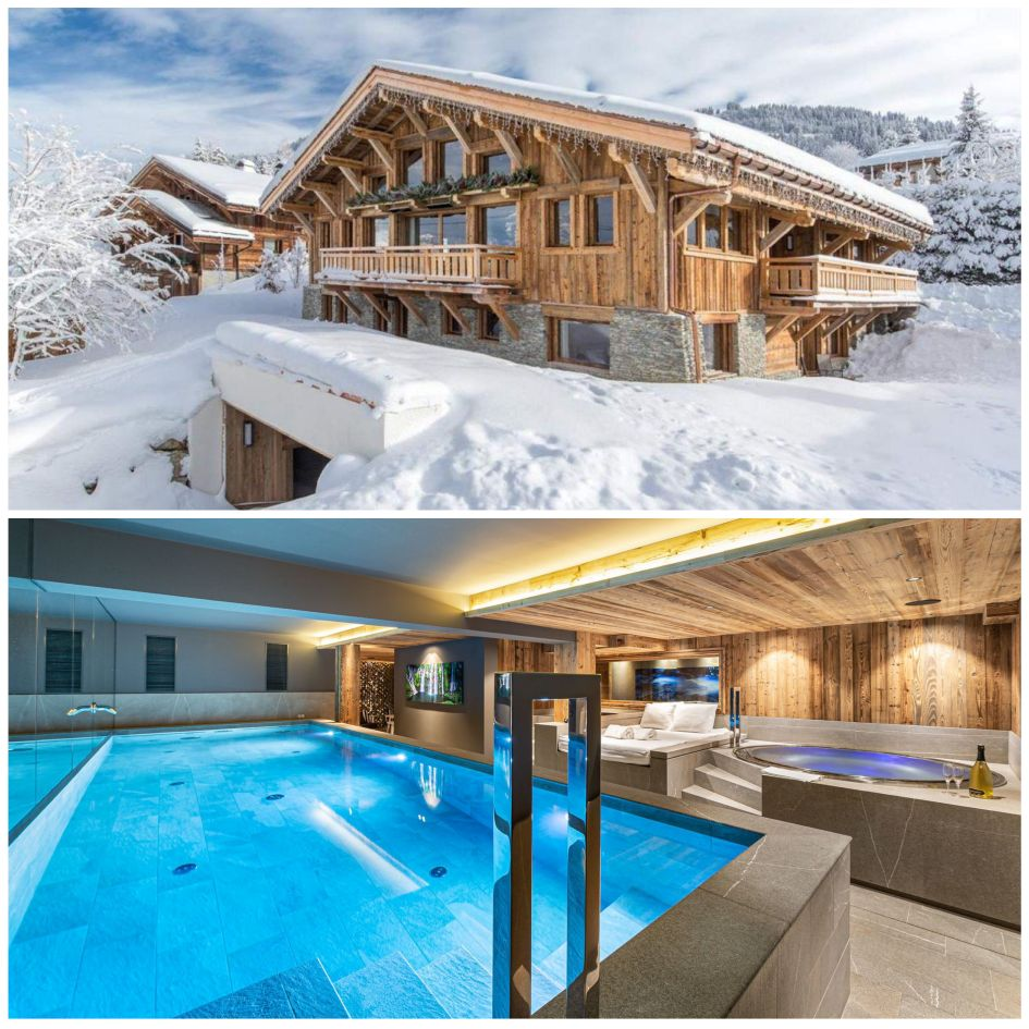 Chalet Orcia, Megeve, Swimming Pool, Chalet, ski holidays in Megeve