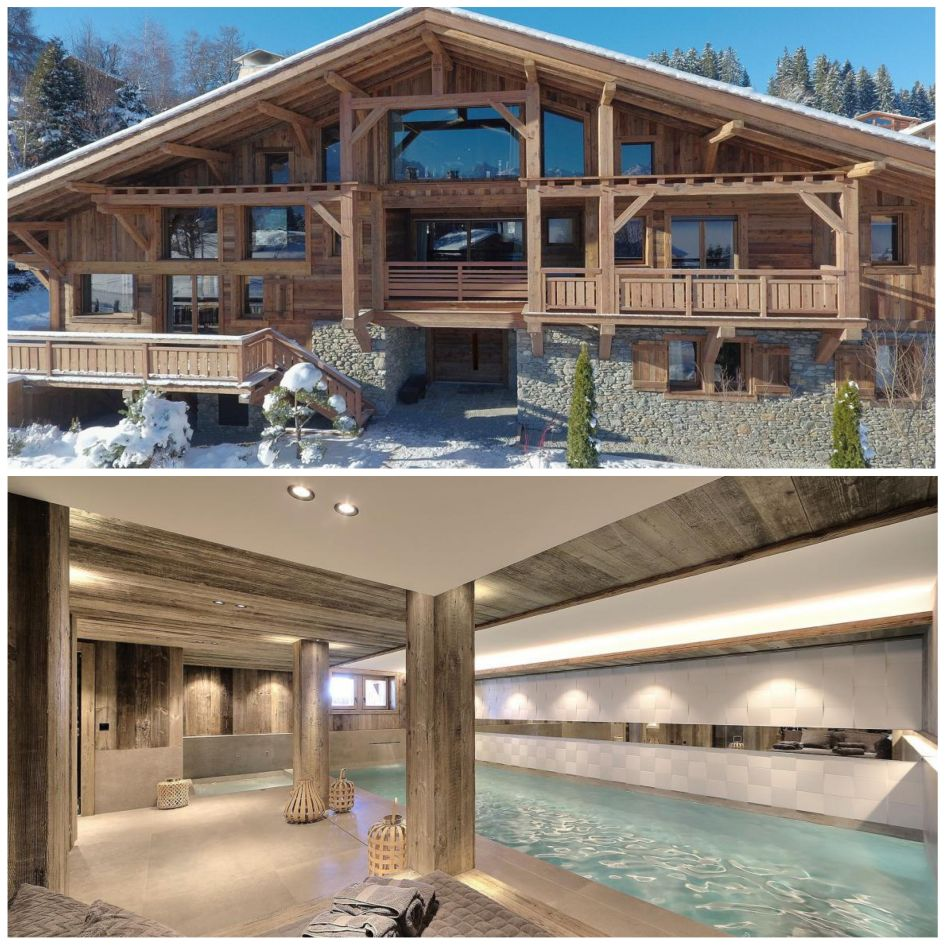 Chalet My World, Megeve, Swimming Pool, Wellness, ski holidays in Megeve