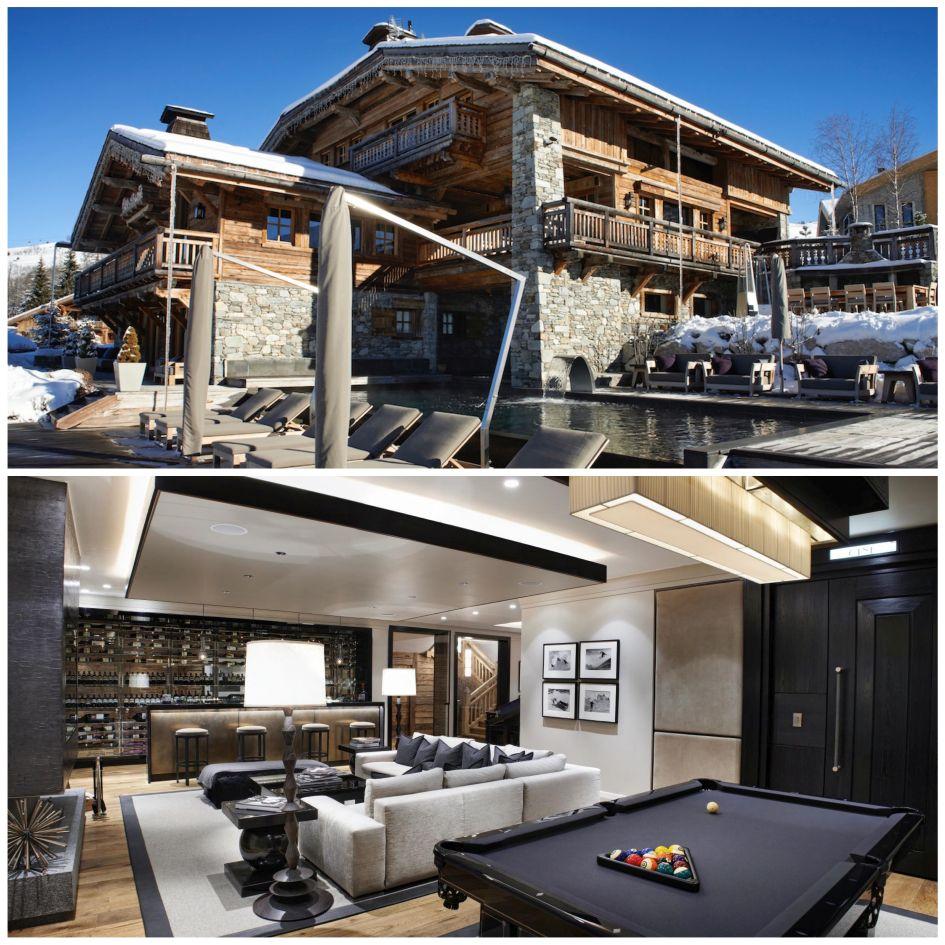 Chalet Aspen, Megeve, Snow, Mountain, Pool,