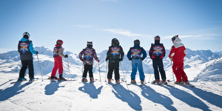 Skiing, children, families, school, ski holidays in Megeve