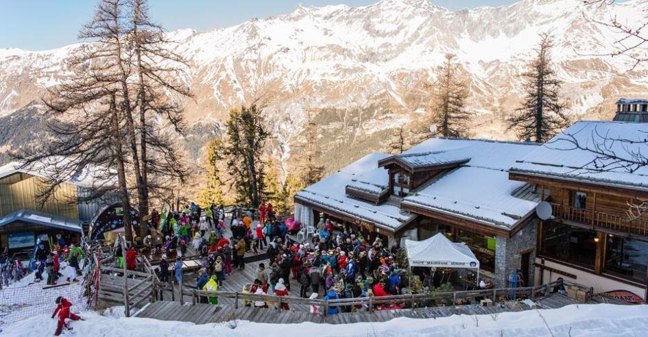 Apres, Ski resort, ski holidays in Megeve, Winter, Snow, Mountains