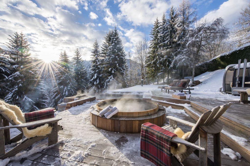 alpine retreat, remote chalets, escapism, wanderlust, luxury retreat, luxury alpine retreat, luxury winter escape