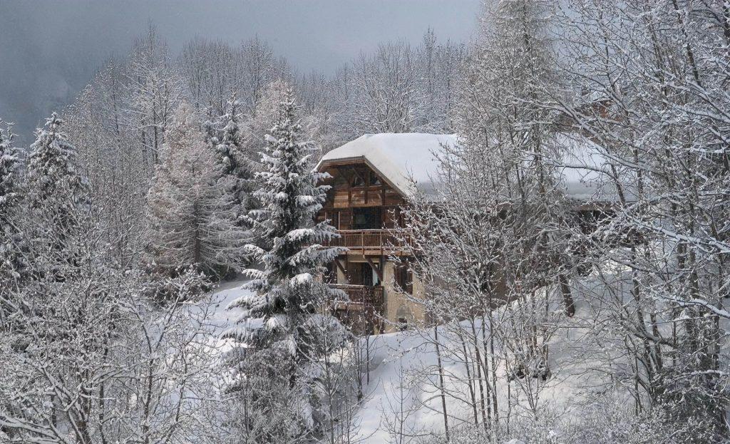luxury alpine escape Les Gets, remote chalet Les Gets, luxury winter escape, les Gets remote chalet