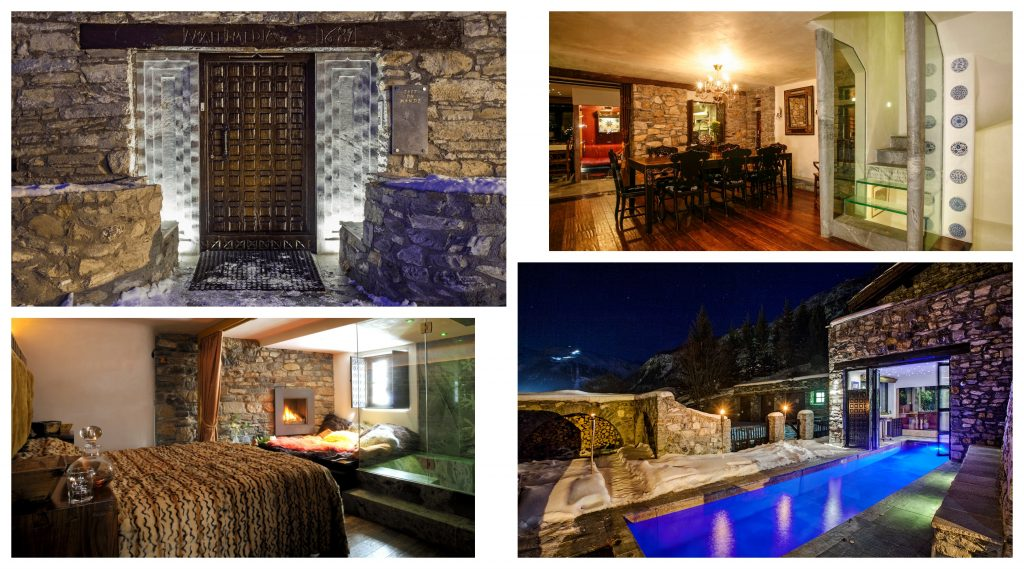luxury chalet, val d'isere luxury chalet, traditional ski holiday