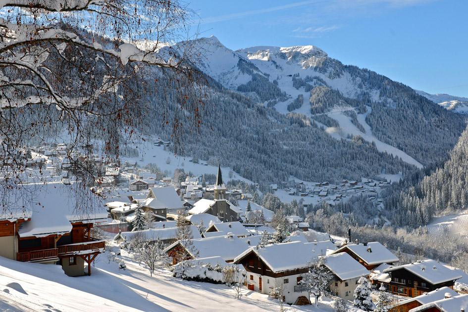 ski the Portes du Soleil, ski in Chatel