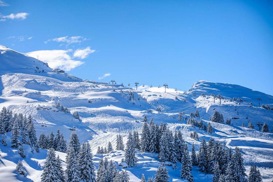 Portes du Soleil Ski Area.