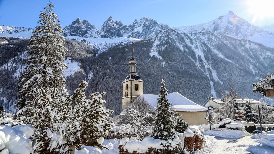 ski de luxe à Chamonix, ville du Chamonix