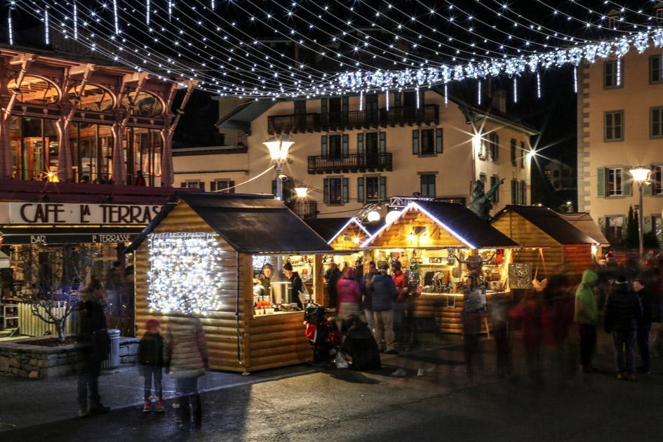 Vacances au Ski de Luxe Chamonix. Luxe Chamonix de Nuit