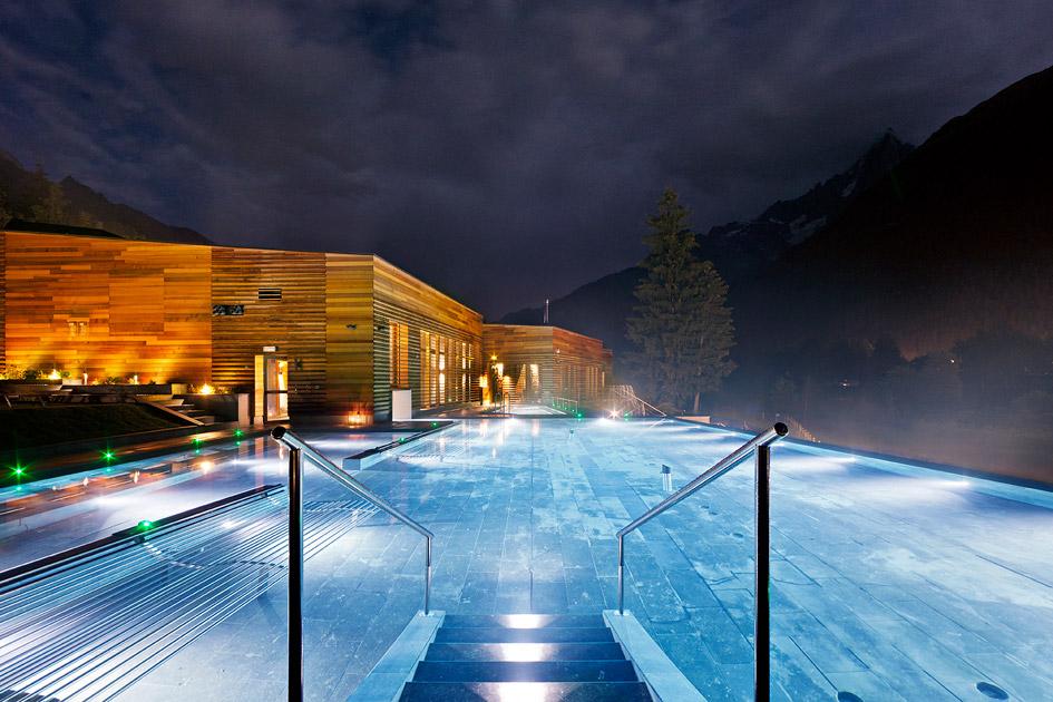 bien-être, QC Terme Chamonix Mont Blanc.