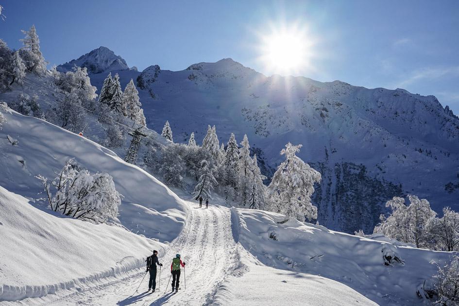 Ski de Randonnee à Chamonix, activités de montagne