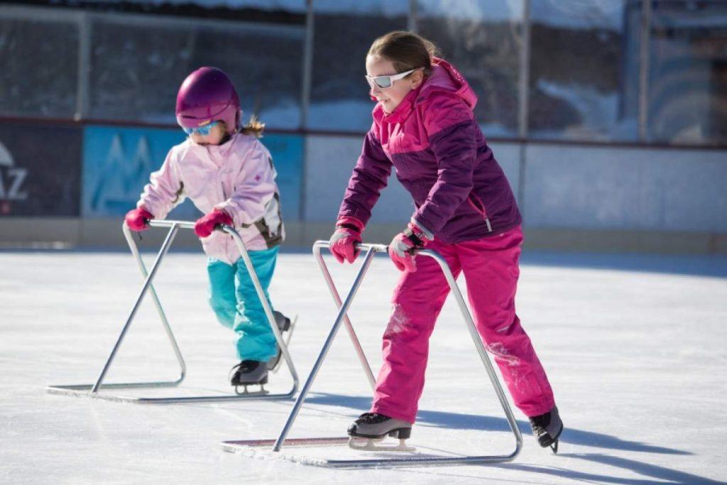 ice rink Nendaz, ice skating Nendaz,