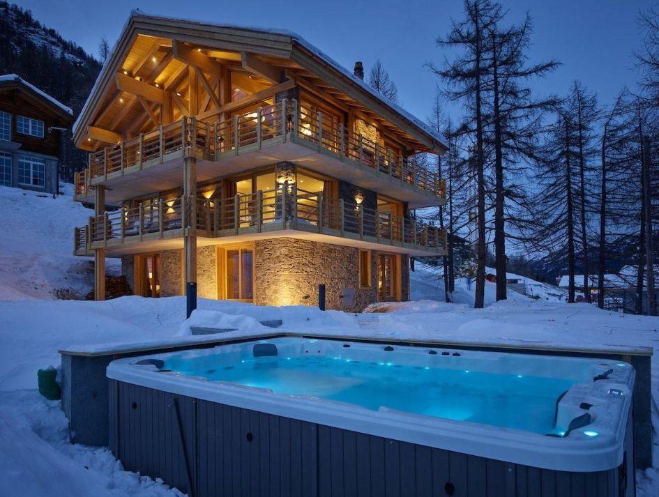 luxury chalet Saas Fee, Saas Fee ski holiday, mountain lodge Switzerland, chalets Switzerland