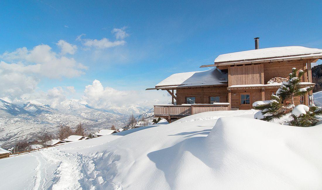 luxury chalets Nendaz, chalets Switzerland, ski holiday Nendaz, mountain lodge Nendaz