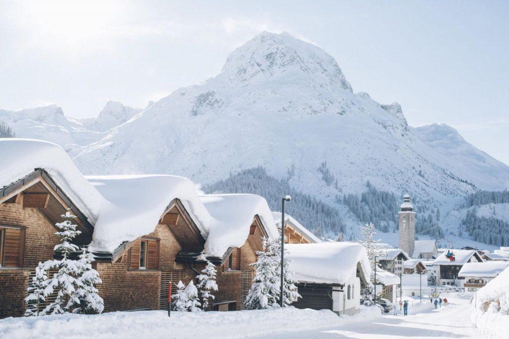 Lech ski village, Lech ski resort